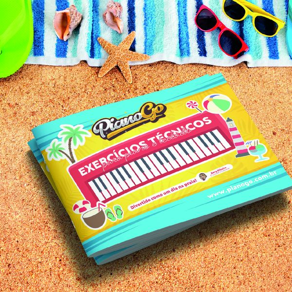 Imagem principal do produto EXERCÍCIOS TÉCNICOS PARA PIANO E TECLADO