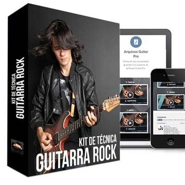 Imagem principal do produto Kit de Técnica para Guitarra Rock