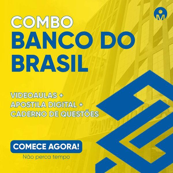 Imagem principal do produto Concurso do Banco do Brasil - Escriturário - Agente Comercial