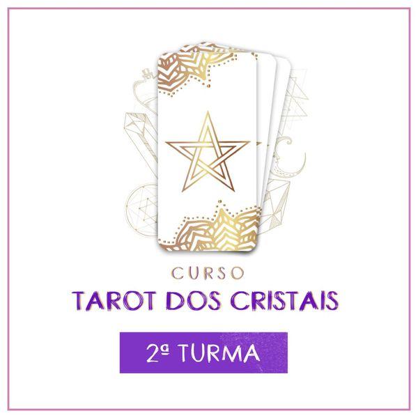 Imagem principal do produto CURSO TAROT DOS CRISTAIS (2ª TURMA)