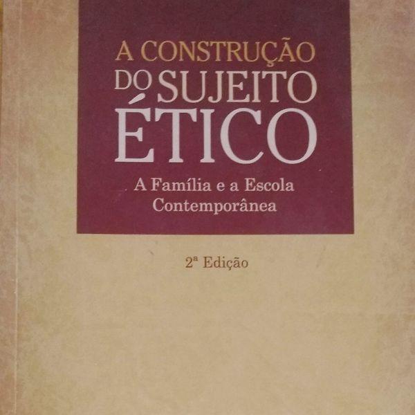 Imagem principal do produto A CONSTRUÇÃO DO SUJEITO ÉTICO