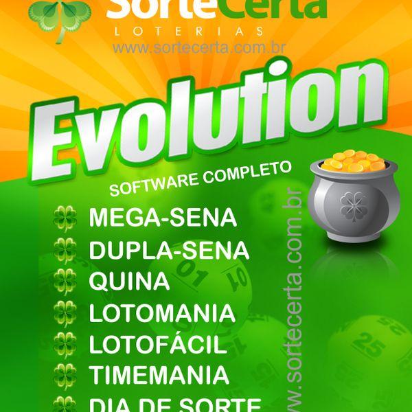 Imagem principal do produto Sorte Certa Evolution + Sorte Certa NET (com a Super Sete) + Sorte Certa Super 7