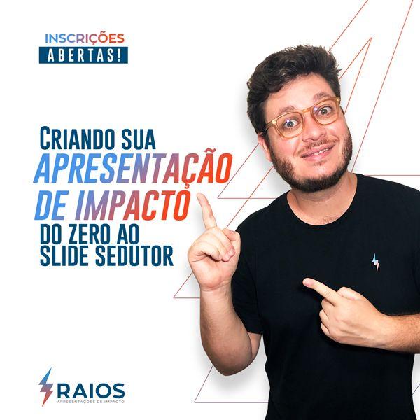 Imagem principal do produto Curso Criando sua Apresentação de Impacto do ZERO ao SLIDE SEDUTOR.