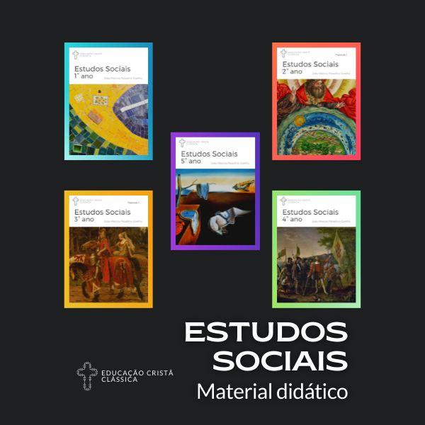 Imagem principal do produto Kit Estudos Sociais Fascículos 1 + Volume 1