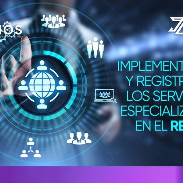 Imagem principal do produto Implementación y registro de los servicios especializados en el REPSE