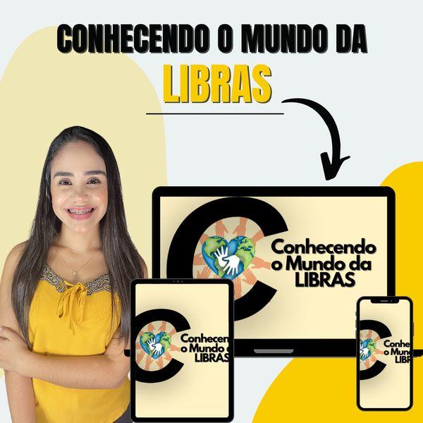 Imagem principal do produto Conhecendo o Mundo da Libras