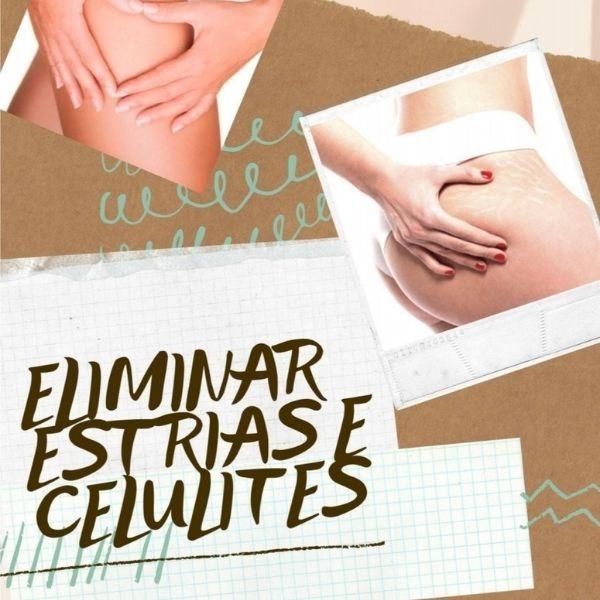 Imagem principal do produto Como eliminar Estrias e Celulites