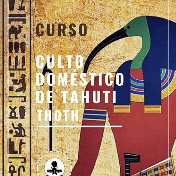 Imagem principal do produto Curso Culto Doméstico a Thoth