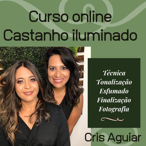 Imagem principal do produto Curso online Castanho iluminado com poucos papéis