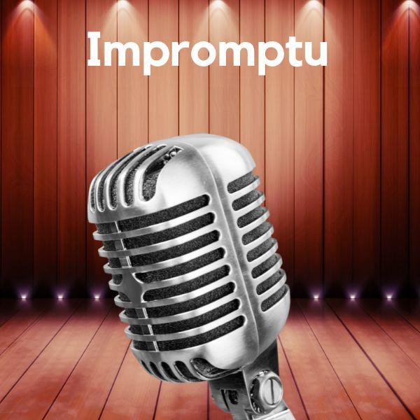 Imagem principal do produto Discurso Impromptu