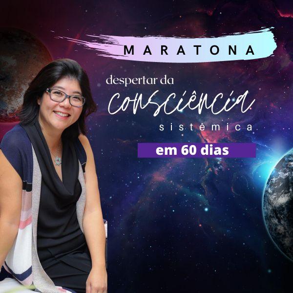 """Imagem principal do produto Maratona do """"despertar da consciência sistêmica em 60 dias"""""""