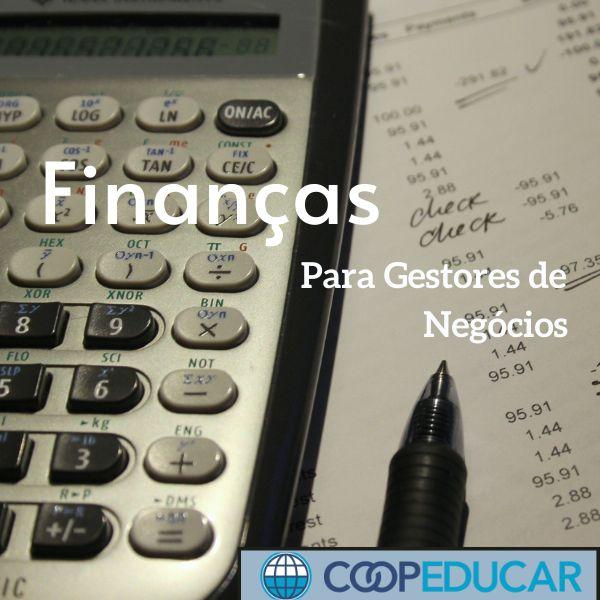 Imagem principal do produto Finanças para Gestores de Negócios - Prof. Amaury Cardoso Rios