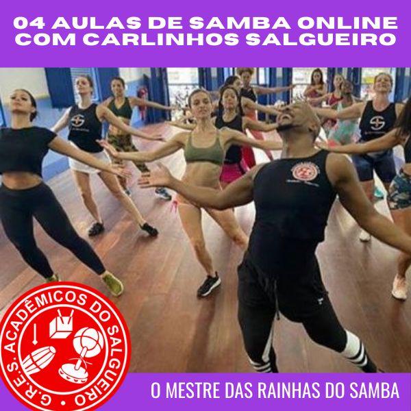 Imagem principal do produto 04 Aulas de samba online com Carlinhos Salgueiro