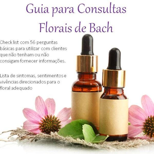 Imagem principal do produto Facilitador de consultas - Florais de Bach