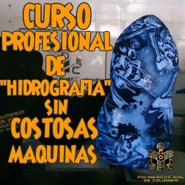 Imagem principal do produto CURSO PROFESIONAL DE HIDROIMPRESION SISTEMA EN FRIO (SIN COSTOSAS MAQUINAS)