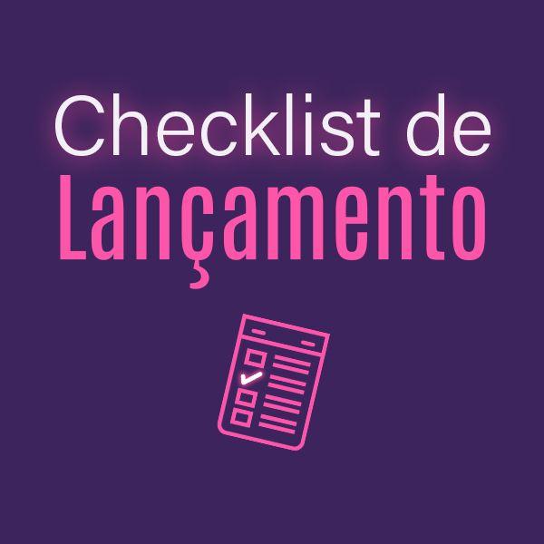 Imagem principal do produto Checklist de Lançamento Desafio