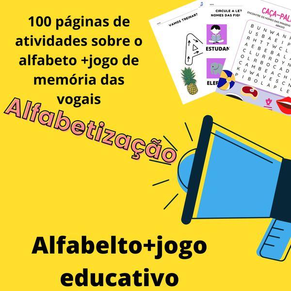 Imagem principal do produto Atividades Prontas para Anos Iniciais - Alfabeto