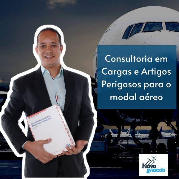 Imagem principal do produto Consultoria para os Procedimentos de Transporte de Artigos Perigosos e Carga Aérea