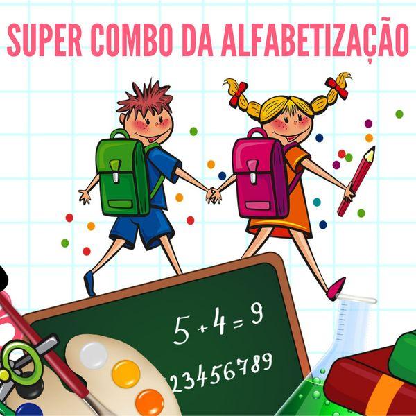 Imagem principal do produto Super Combo da Alfabetização - Método de Alfabetização Profª Suellen Nakatani