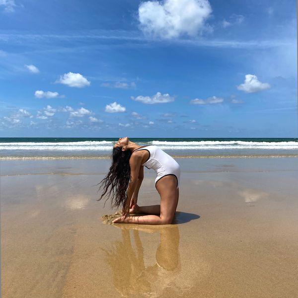 Imagem principal do produto Clases de yoga para embarazadas con Katy Sainz