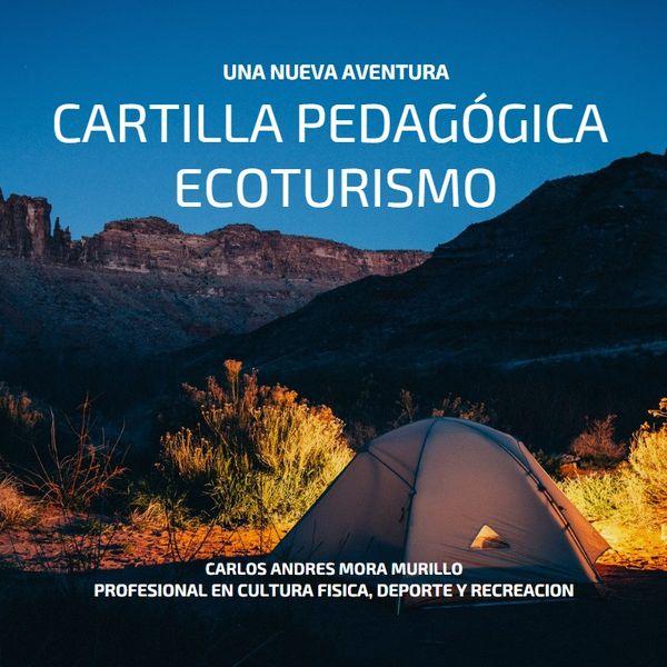 Imagem principal do produto CARTILLA PEDAGÓGICA DE ECOTURISMO