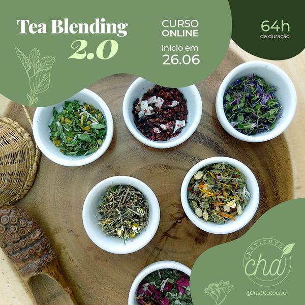 Imagem principal do produto  Formação em Tea Blending 2.0 - 64hrs (Turma 2021)