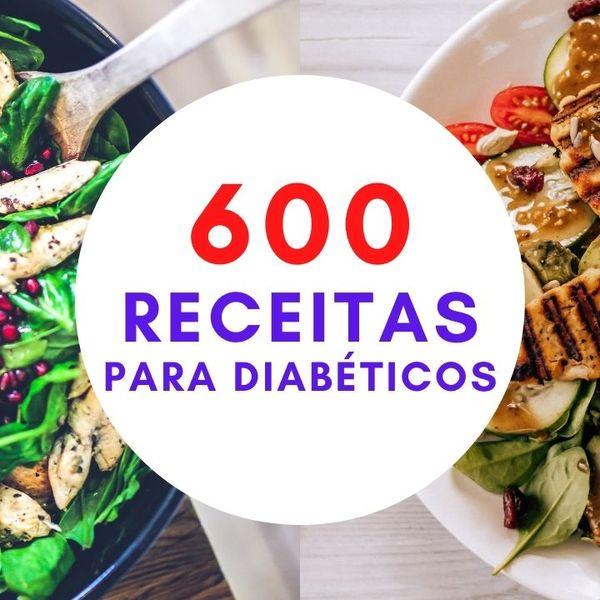 Imagem principal do produto 600 RECEITAS PARA DIABÉTICOS