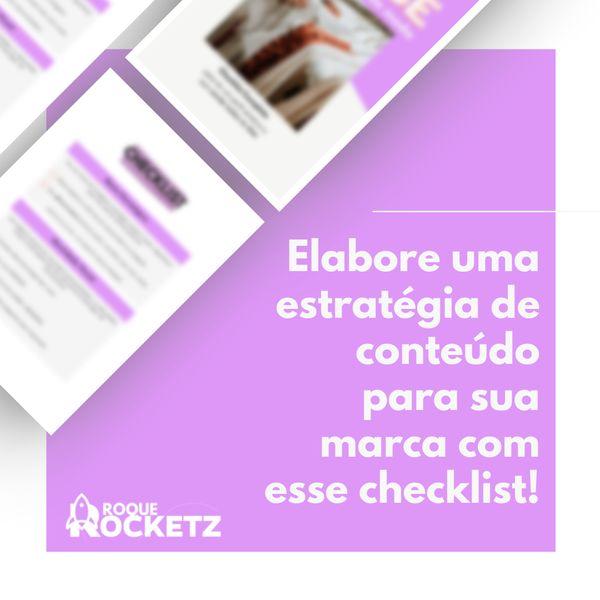Imagem principal do produto Checklist para BOMBAR o instagram da sua marca!