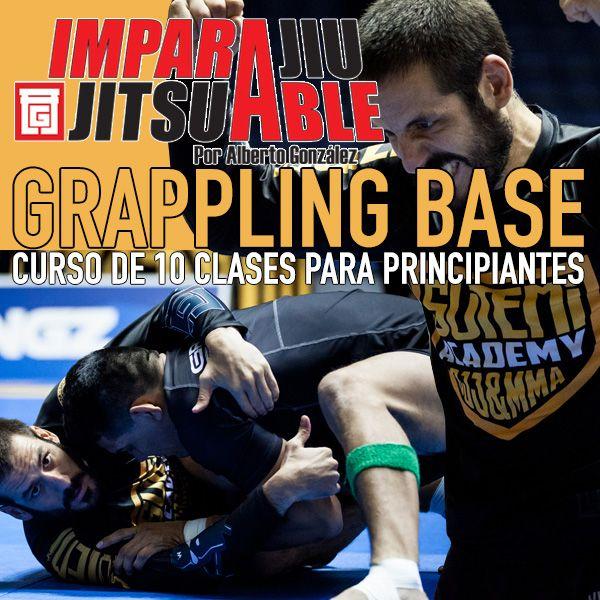 Imagem principal do produto Grappling Base. Jiu Jitsu No Gi para principantes