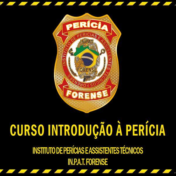 Imagem principal do produto CURSO INTRODUÇÃO À PERÍCIA