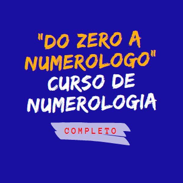 Imagem principal do produto Do zero a numerólogo