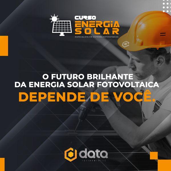 Imagem principal do produto Curso Energia Solar - Especialistas em Sistemas Fotovoltaicos.