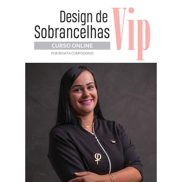 Imagem principal do produto Curso Design de Sobrancelhas Vip