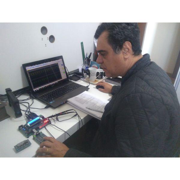 Imagem principal do produto Curso Básico - Microcontroladores PIC - PIC18F2550 - Linguagem C