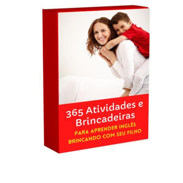 Imagem principal do produto 365 Atividades e Brincadeiras para aprender Inglês brincando com seu filho