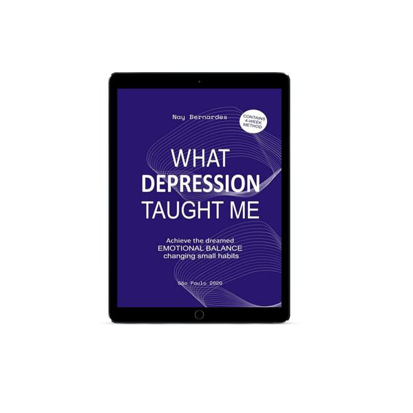 Imagem principal do produto WHAT DEPRESSION TAUGHT ME - E-BOOK