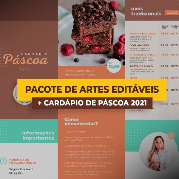 Imagem principal do produto Cardapio&Artes