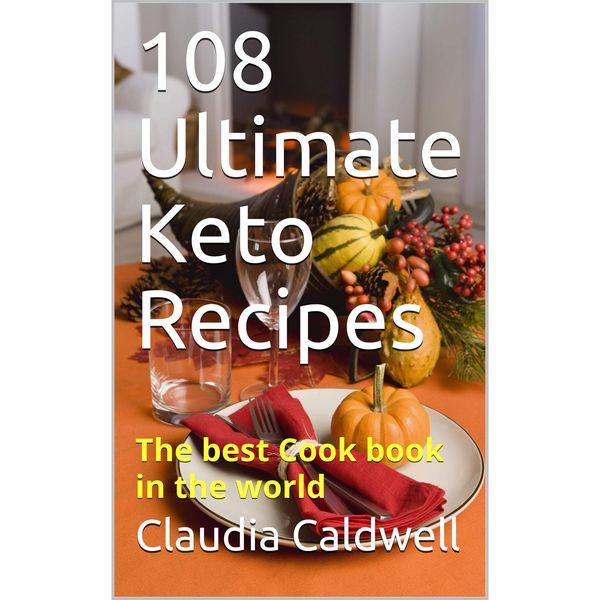 Imagem principal do produto 108 Recetas indispensables de Keto