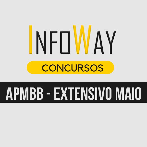 Imagem principal do produto APMBB - EXT MAIO - BOLETO