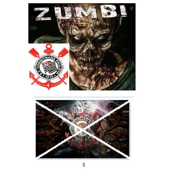 Imagem principal do produto Corinthians zumbi foto para estampar camisetas 8
