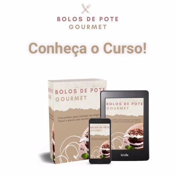 Imagem principal do produto Bolo de Pote Gourmet