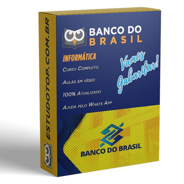Imagem principal do produto Curso de Informática para o Concurso do Banco do Banco do Brasil - 2021