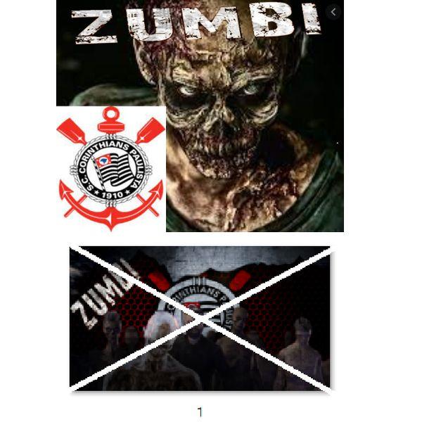 Imagem principal do produto Corinthians zumbi foto para estampar camisetas 1