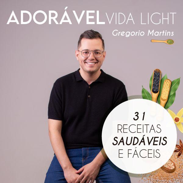 Imagem principal do produto Adorável Vida Light (Receitas Saudáveis)