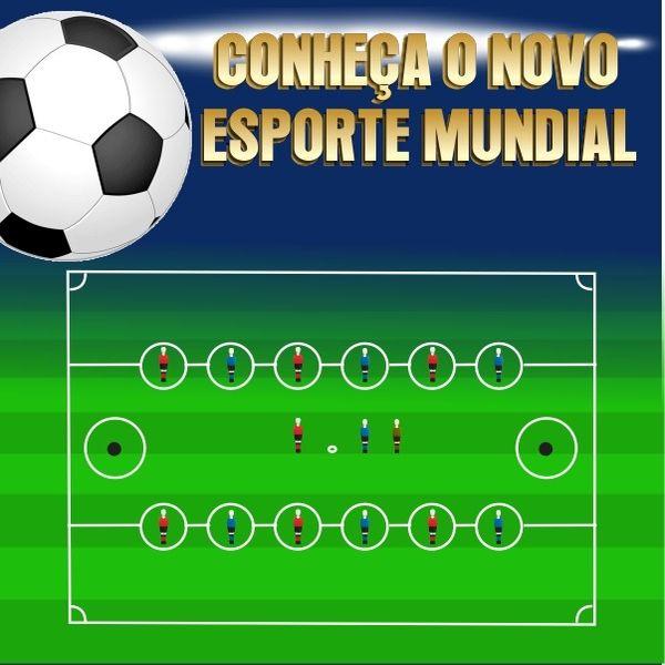 Imagem principal do produto Conheça o Novo Esporte Mundial
