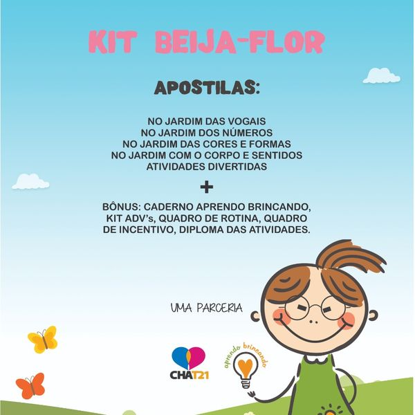 Imagem principal do produto KIT BEIJA-FLOR