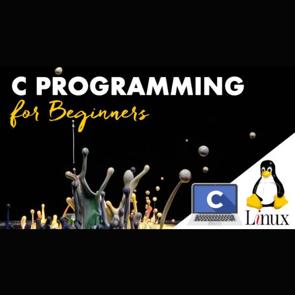 Imagem principal do produto C Programming Language for Beginners on Linux from Complier Installation to Writing and Flags