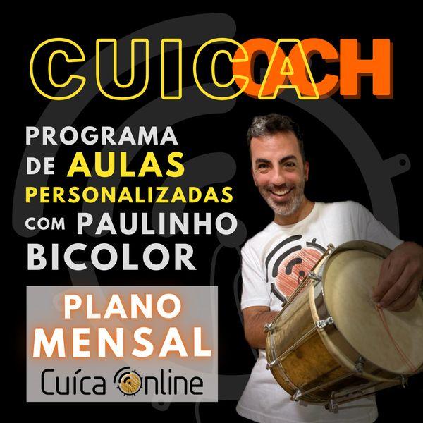 Imagem principal do produto CUICOACH ::::: Personal Cuíca Trainer ::::: Plano mensal [PROMO-CUICA-ONLINE]