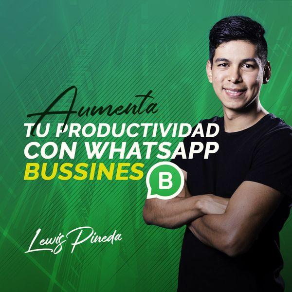 Imagem principal do produto Aumenta tu productividad con Whatsapp Business