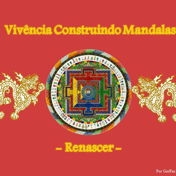 Imagem principal do produto CONSTRUINDO MANDALAS - RENASCER